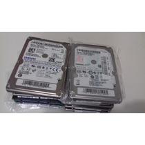 Lote Com 10 Hd Notebook 650gb 250gb 160gb 120gb 80gb Defeito