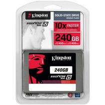 Hd Ssd 240 Gb Kingston V300 450 Mb/s 10x + Rápido 2.5 Sata 3