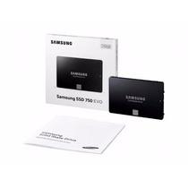 Hd Ssd Samsung 750 Evo 250gb Sata 6gb/s +q240gb Lacrado P.e.