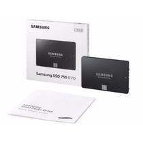 Hd Notebook Ssd Samsung 750 Evo 250gb Sata 6gb/s +q 240gb