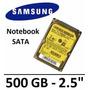 Hd Notebook Seagate Samsung Momentus 500gb 7200 Rpm