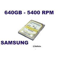 Hd Notebbok Sansung 640gb C/def