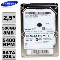 Hd Notebook 500gb Sata Toshiba Samsung Hitachi Seagate