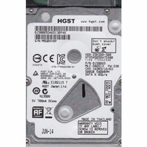 Hd Hitachi Hgst 2.5 Slim 7 Mm Sata 2 500 Gb 5400 Rpm