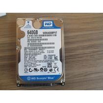 Placa Logica Hd Wd Para Notebook 640 Giga