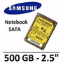 Hd Samsung P/ Notebook Sata 2.5´ 500gb 5400rpm