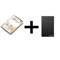 2tb Notebook 2,5 5400 St2000lm003 + Case Seagate 2,5
