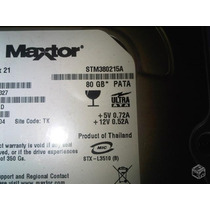 Hd80gb - Ide - Maxtor