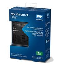Hd Externo Slim Portatil Western Digital Passport Ultra 2tb