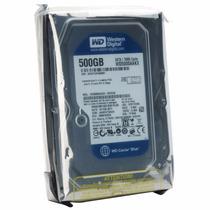 Hd 500gb Western Digital Blue Sata 3 3/6gb/s P/ Pc Lacrado