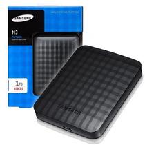 Hd Externo De Bolso Samsung Slim M3 1tb 1000gb Usb 3.0 Slim