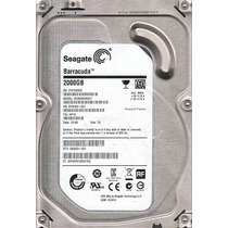 Hd 2tb Seagate Sata 3 6gb/s 64mb Buffer 2000gb Barracuda