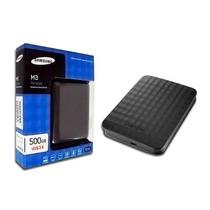 Hd Externo 500gb Usb 3.0 E 2.0 Samsung M3 Portátil Original