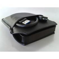 Capa De Couro, Proteção Para Hd Externo Samsung