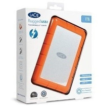 Hd Externo 2tb Usb 3.0 Thunderbolt Rugged 9000489 Lacie