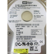 Hd 80gb Sata Western Digital 7200rpm