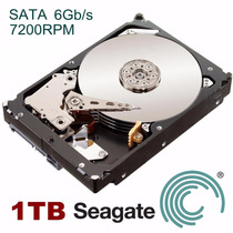 Hdd Sata Iii Seagate Interno 1000 Gb Desktop 7200rpm 6gb/s