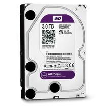 Hd Interno 3tb Western Digital Purple Sata3 64mb Wd30purx
