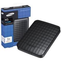 Hd Externo De Bolso 1tb Samsung Slim Usb 3.0 M3 Frete Grátis