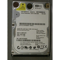 Hd P/ Note Sata 160gb Wd1600bevs Comp. Not Sata