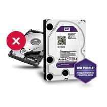 Hd Wd Western Digital Purple 1tb 64 Mb Sata 3 Anos Garantia