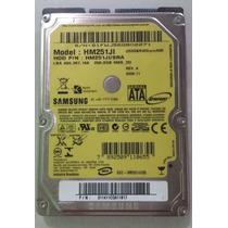 Hd Sata Samsung 250gb Mod.hm251ji Lga488,397,168 Notebook