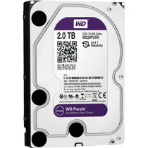 Hd Western Digital Purple 2tb Wd20purx Dvr/vigilância/24x7