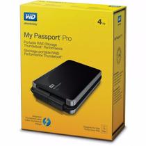 Wd My Passport Pro 4tb Raid Thunderbolt Time Machine Mac