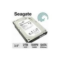 Hd Seagate Barracuda 2tb 2000gb 64mb Sata 3 6gb/s 7200rpm Pc