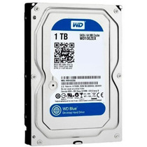 Hd 1 Tera 7200rpm 64mb Cache Western Digital Para Dvr Cftv
