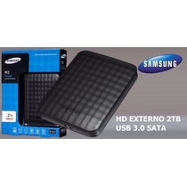 Hd Externo 2tb Samsung M3 Bolso Portátil Usb 3.0 Slim 2 Tb