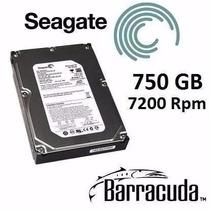 Hd Seagate Barracuda 750gb 7200rpm Cache 16mb Sata 2