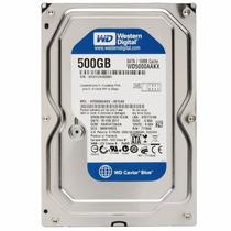 Hd 500gb Western Digital Sata3 7200rpm 6gb/s Wd5000aakx