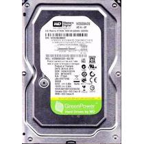 Hd Pc Western Digital 500gb Sata 3gb 7200rpm Wd Green Blue
