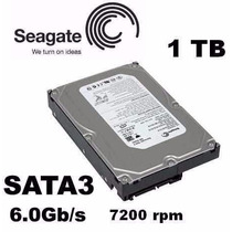 Hd Interno 1tb Sata 6gb/s 7200rpm 1000gb Seagate Lacrado Pc