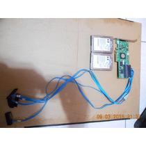 Kit 2x Hds Sas 146gb 10k 2.5 + Controladora Hp Lsi-3042