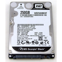 Hd P/ Note 250gb Wd2500bekt - Western Digital - Novo