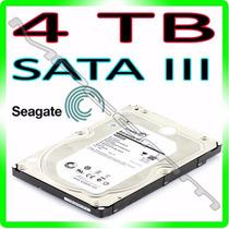 Hd 4tb Seagate Barracuda 4000gb 7200rpm 64mb 6gb/s* Sata 3 *