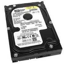 Hd Western Digital 80gb 7200rpm Sata 3.5po - Wd800jd / Nr694