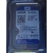 Hd Pc Western Digital 500gb Sata 3gb 7200rpm Wd Blue Oferta