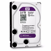 Hd Interno 2tb Western Digital Purple 64mb (wd20purx)