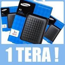 Hd Externo Samsung M3 1tb 1 Tera Usb 3.0 Novo Com Garantia 1