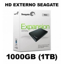 Hd Externo Seagate Expansion 1tb Usb 3.0 Novo