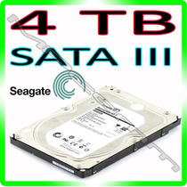 Hd 4tb Seagate Interno 4000gb 7200rpm 64mb 6gb/s * Sata 3 *