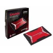 Ssd Kingston Hyperx Savage 240gb Sata Iii 6gb/s Shss37a/240g