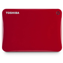 Hd Externo Toshiba Canvio 500gb Connect Ii Usb 3.0 Vermelho