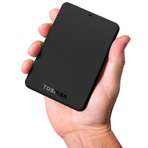 Hd Externo 1tb Toshiba 480 Mbps, Bivolt - Canvio