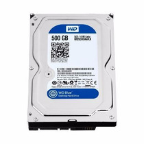Hd Interno Wd Desktop 500gb Sata 3 16mb 7200rpm Wd Blue