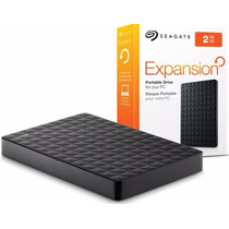 Hd Externo 2tb Portátil Expansion C/ Cabo Usb 3.0 - Seagate