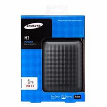 Hd Externo 1 Tera Samsung M3 Portáril Em Até 12x